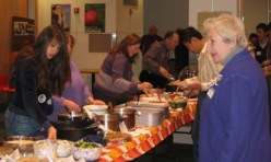 RPCVs of NENY host a Thanksgiving dinner at RPI
